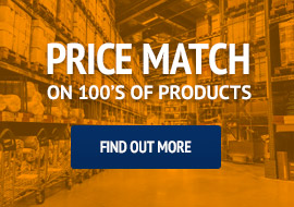 Price match on 100s of Building Supplies