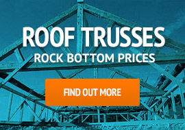 Roof Trusses at Rock Bottom Prices