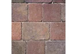 50mm Bradstone Woburn Rumbled Block Paving - Autumn