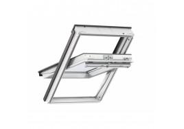 VELUX GGU 0066 White Polyurethane Triple Glazed Centre Pivot Window