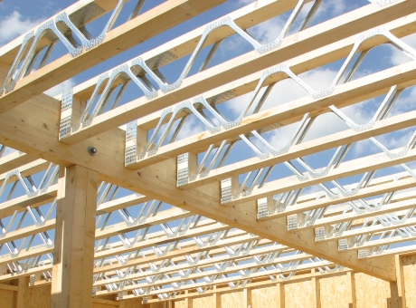 Engineered timber joists - the freedom of any internal room layout without the constraints of traditional timber joists