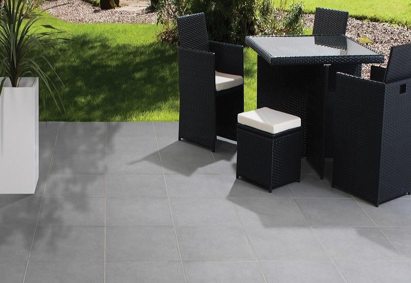 Bradstone mode paving patio