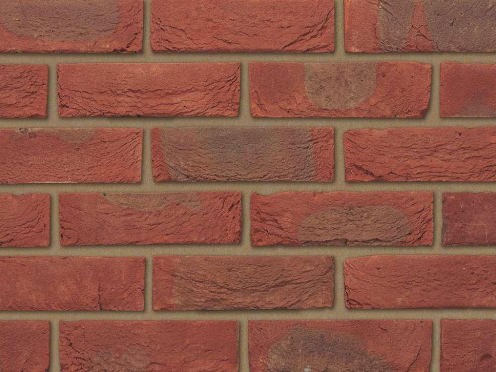 65mm Ibstock Bradgate Claret Brick Per Pack 430