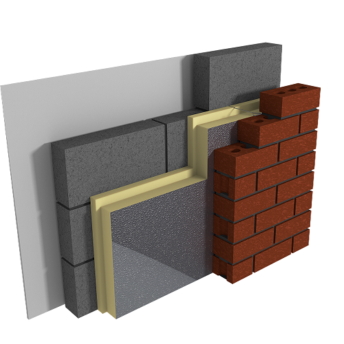 Celotex cf5000 full fill cavity wall insulation 1200 x for Stone wall insulation