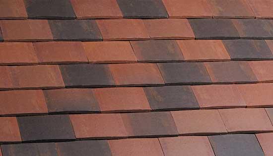 Marley Acme Double Camber Clay Plain Tile