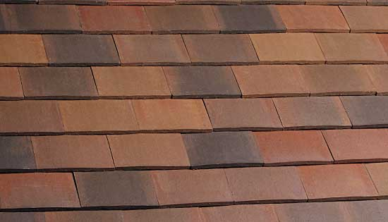 Marley Acme Double Camber Clay Plain Tile