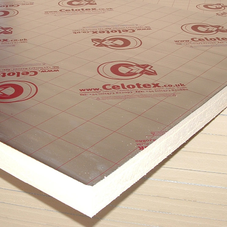 Celotex insulation for 100mm kingspan floor insulation