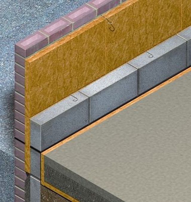 100mm Rockwool Cavity Wall Insulation