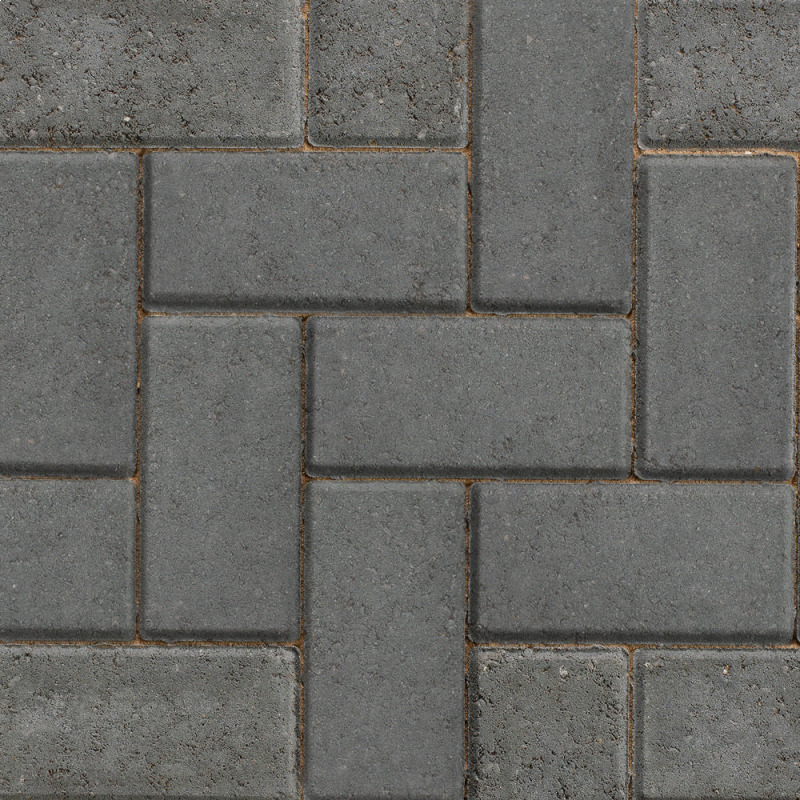 50mm Charcoal Standard Block Paving