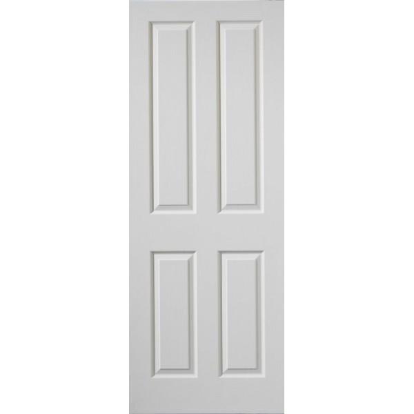 Cadeby White Primed 4 Panel, 1/2 hour