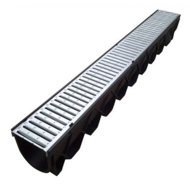 Domestic drainage channel 1000mm galv for Domestic drainage system layout