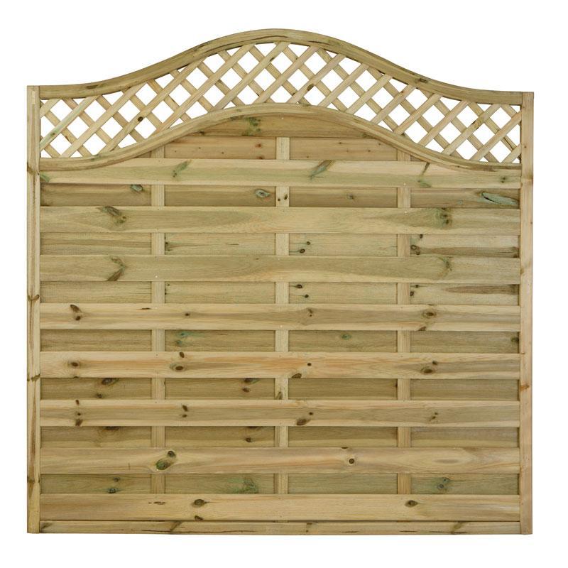 Fencing Horizontal Weave Paloma Fence Panels Various Sizes