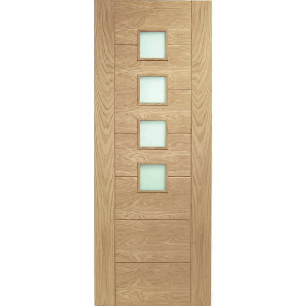 Palermo oak with obscure safety glass 1 2 hour for 1 hour fire rated glass door