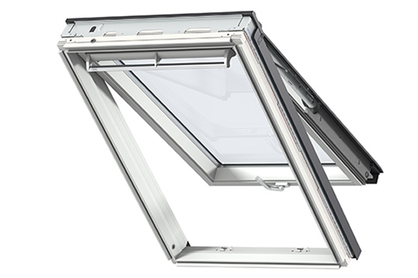 velux gpu 0066 triple glazed white polyurethane top hung window. Black Bedroom Furniture Sets. Home Design Ideas