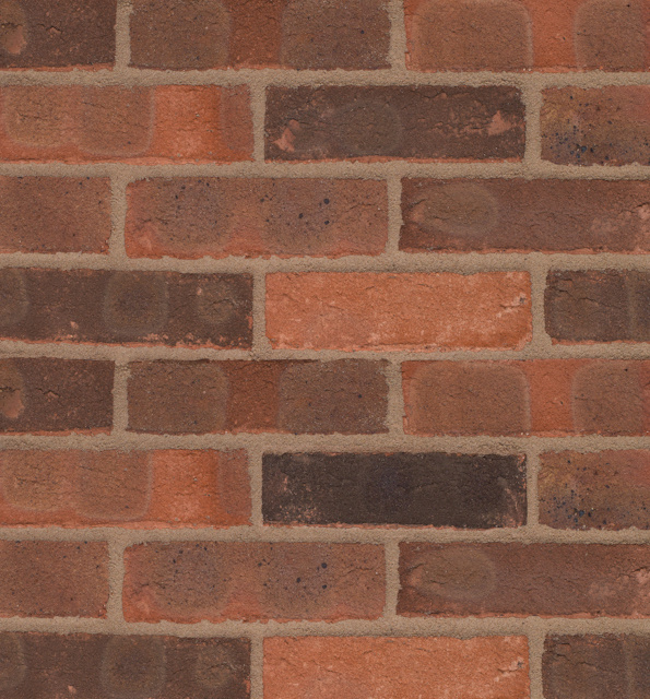 65mm Wienerberger Ashington Red Multi Brick Per Pack 500