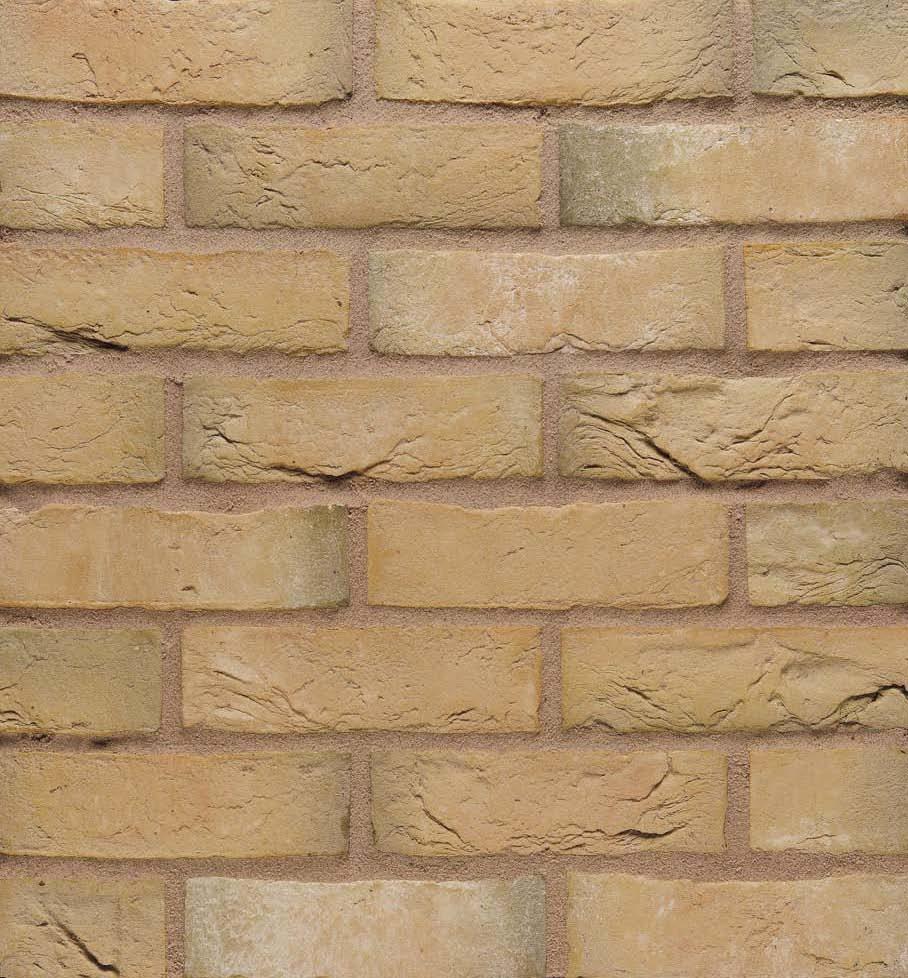 65mm Wienerberger Olde Alton Yellow Multi Brick Per Pack 528